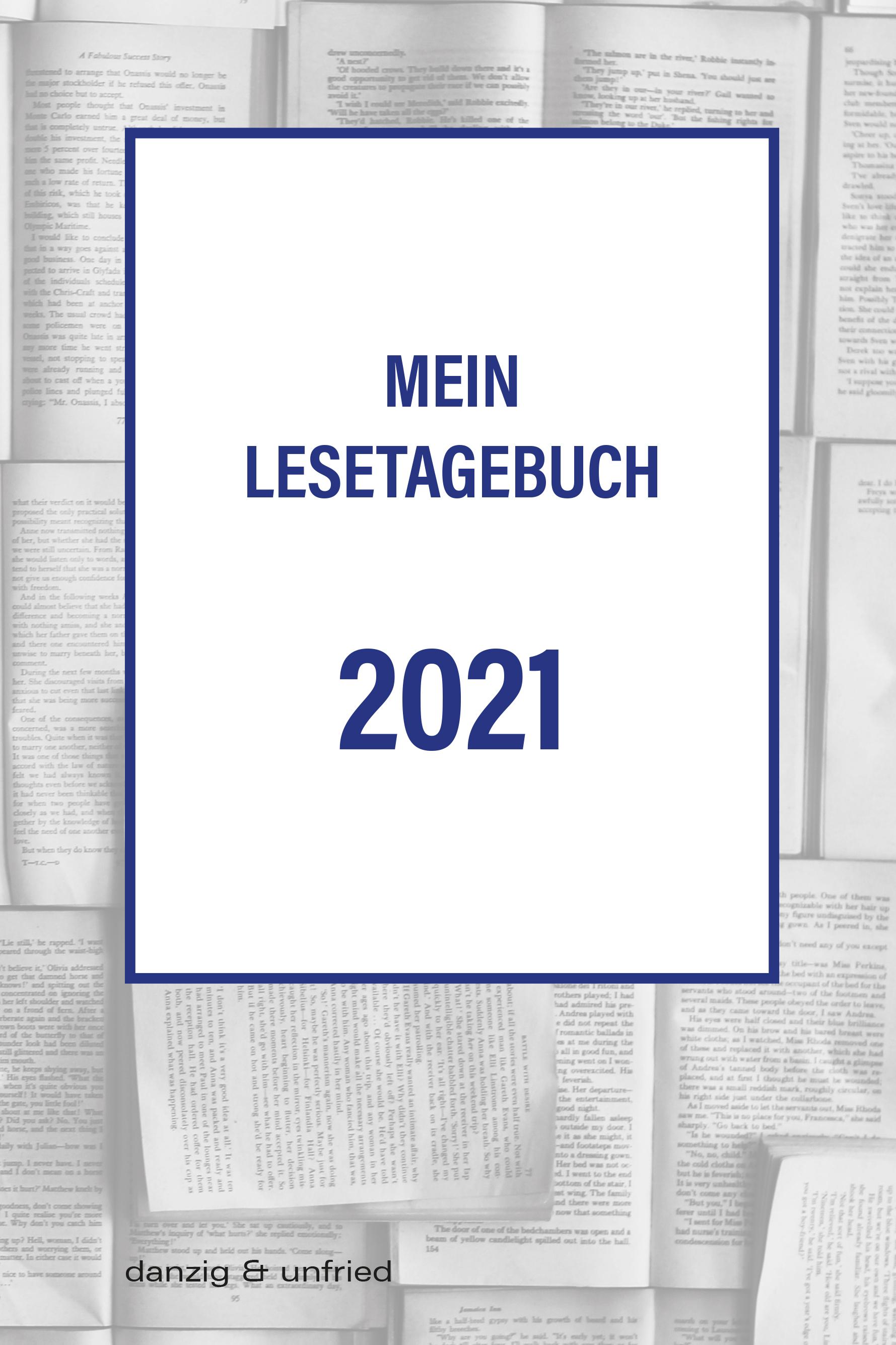 Mein Lesetagebuch 2021